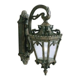 Kichler 9356LD Outdoor Light, European Wall Mount 1 Light Fixture Londonderry