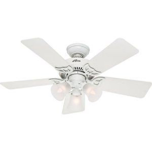 Hunter HUF 51010 Southern Breeze Builder Ceiling Fan with light