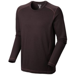 Mountain Hardwear Trekkin Thermal Crew Shirt    UPF 15  Long Sleeve (For Men)   CINDER (L )