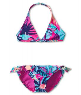 Roxy Kids Take Me To Paradise Halter Set Girls Swimwear Sets (Multi)