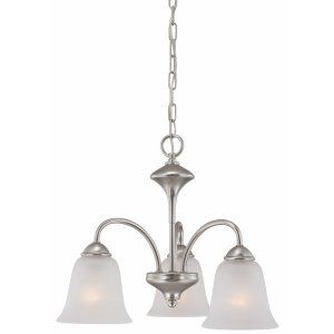 Thomas Lighting THO 190037117 Holly Chandelier Matte Nickel 3x100W 120