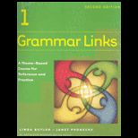 Grammar Links 1, Complete   Text and Workbook and Cassette