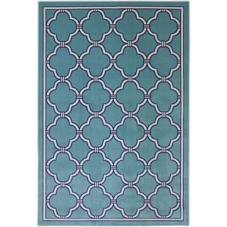 Mohawk Home Parsonage Indoor/Outdoor Rectangular Rugs, Winter Mist