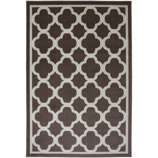 Mohawk Home Parsonage Indoor/Outdoor Rectangular Rugs, Brown