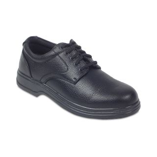 Deer Stags Service Mens Oxfords, Black