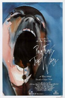 PINK FLOYD THE WALL Movie Poster
