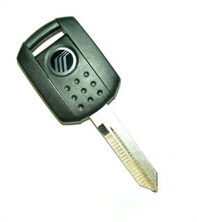 2009 Mercury Mariner transponder key blank