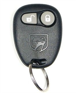 2002 Dodge Viper Keyless Entry Remote