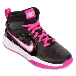 Nike Hustle D6 Preschool Girls Basketball Shoes, Blk/pnk/slvr , Girls