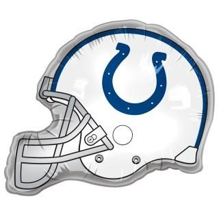 Indianapolis Colts Helmet Jumbo Foil Balloon
