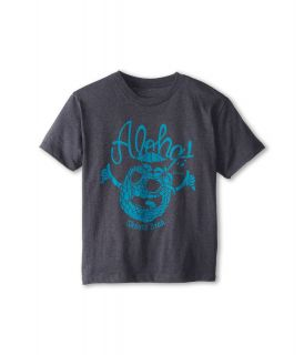 Rip Curl Kids Shoots Brah Heather Tee Boys T Shirt (Gray)