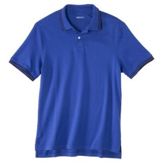 Mens Classic Fit Polo Shirt BLUE STREAK XL