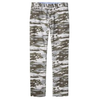 Mossimo Supply Co. Mens Slim Fit Chino Pants   Mesa Gray Camouflage 28x30