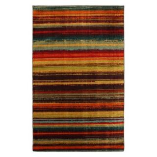 Mohawk Home Boho Stripe Area Rug   8x10