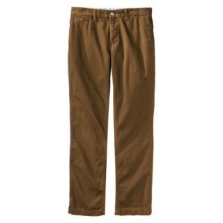 Mossimo Supply Co. Mens Slim Fit Chino Pants   Gilded Brown 38x32