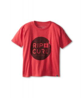 Rip Curl Kids Capital Heather Tee Boys Short Sleeve Pullover (Pink)