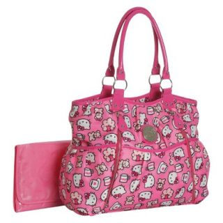 Hello Kitty Diaper Bag   Print