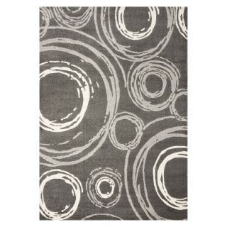 Safavieh Circles Area Rug   Dark Gray(67x96)