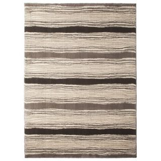 Threshold Kantistripe Fleece Area Rug   5x7
