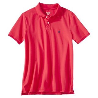 Mens Slim Fit Polo Shirt Inca Red XS