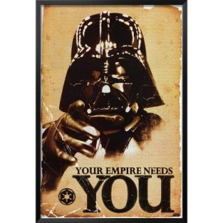 Art   Star Wars   Your Empire Needs You Framed Poster