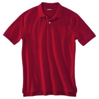 Mens Classic Fit Polo Shirt Carmen Red L