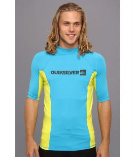 Quiksilver Prime S/S Surf Shirt Mens Swimwear (Blue)