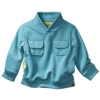 Genuine Kids from OshKosh Infant Toddler Boys Sweatshirt   Teal 3T