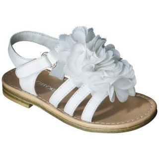 Toddler Girls Cherokee Joslyn Sandal   White 11