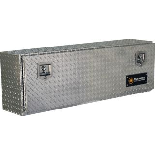 Locking Aluminum Top Mount Truck Box   48 Inch x 12