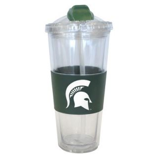 Boelter Brands NCAA 2 Pack Michigan State Spartans No Spill Double Walled