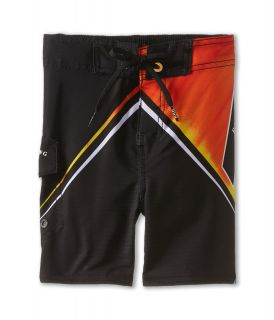 Billabong Kids Conquest Boardshort Boys Swimwear (Orange)