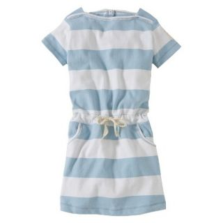 Burts Bees Baby Toddler Girls Boatneck Dress   Fog 4T