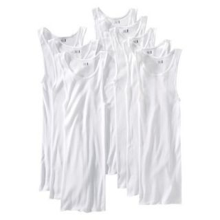 Fruit of the Loom Mens A Shirt 8Pack   White XL