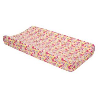 Changing Pad Cover PINK OH, THE PLACES YOULL GO