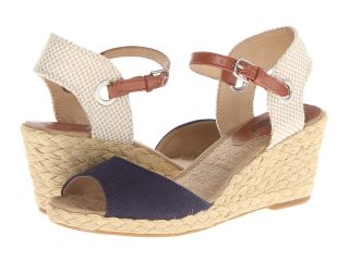 Lucky Brand Kyndra Womens Wedge Shoes (Blue)