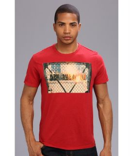 Ben Sherman Fire Logo Mens T Shirt (Red)
