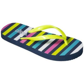 Girls Circo Hester Flip Flop Sandals   Yellow/Blue S