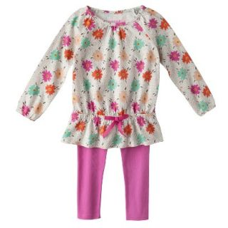 Genuine Kids from OshKosh Infant Toddler Girls 2 Piece Set   Mother Of Pearl 4T