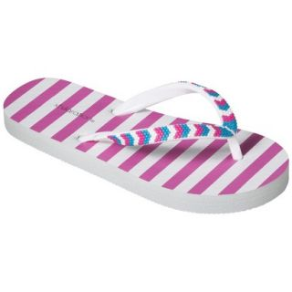 Girls Xhilaration Hoppie Flip Flop Sandals   Pink M