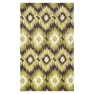 Safavieh Samira Area Rug   Dark Brown/Green (8x10)