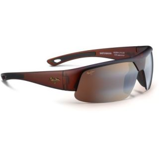 Maui Jim Switchbacks Polarized Interchangeable Sunglasses  Mens,  MATTE ROOTBEER,  HCL BRONZE