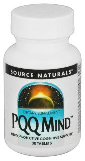 Source Naturals   PQQ Mind   30 Tablets