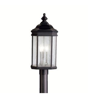 Kirkwood 3 Light Post Lights & Accessories in Black (Painted) 9918BK