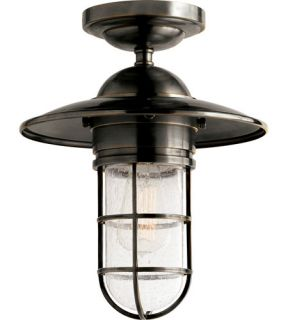Studio Marine 1 Light Outdoor Ceiling Lights in Bronze SLO4002BZ SG