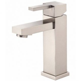 Danze Reef Single Handle Lavatory Faucet   Brushed Nickel