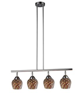 Celina 4 Light Island Lights in Polished Chrome 10153/4PC MLT