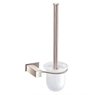Danze® Sirius™ Wall Mount Toilet Brush and Holder   Brushed Nickel