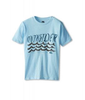 Quiksilver Kids Ride Out Tee Boys T Shirt (Blue)