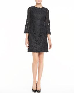 quinn 3/4 sleeve lace dress   kate spade new york